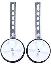 Zerone Estabilizadores de bicicleta para niños, ruedas ajustables de 30,5 a 50,8 cm, color blanco