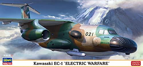 ハセガワ 1/200 航空自衛隊 川崎 EC-1 電子戦訓練機 プラモデル 10842