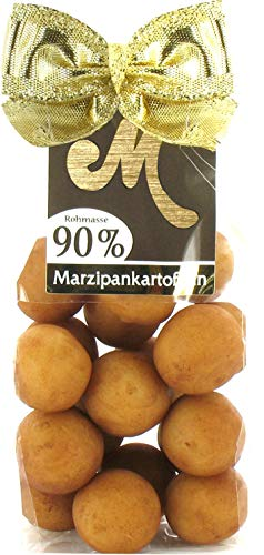 Odenwälder Marzipan Kartoffeln mit 90% Rohmasse und leichter Kakaonote, Edelmarzipan mit 50% Mandeln im Beutel 150g