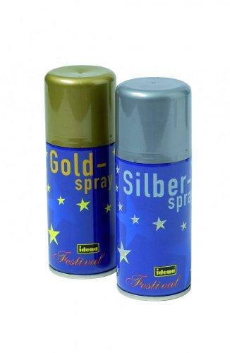 # Deko-Spray SILBER 150ml-Dose, Dekofarbe silberne Sprühfarbe