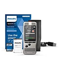 Philips DPM6000 Digital Dictation Device, inkl. dikteringsprogram SpeechExec Basic 2-års abonnemang