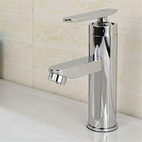 La mejor promoción de una sola manija del lavabo del baño de la cocina Grifos de mezcla de agua fría y caliente Lavabo Grifos de lavabo de mejoras para el hogar en AliExpress