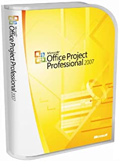 microsoft project professional 2007