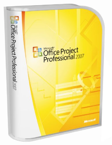 Microsoft Project 2007 Professional Edition - CD 1 Client (PC) [import anglais]
