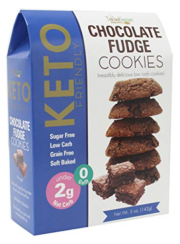 Too Good Gourmet Keto Cookies, Soft-Baked Healthy Snacks, Sugar and Grain-Free Low Carb Keto Snacks, Healthy Sweets with Less Than 2g Net Carbs (Cookies Variety Pack of 3, 5oz Boxes, Chocolate Fudge)