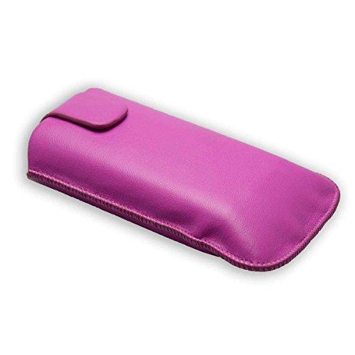 caseroxx Slide-Etui für Doro PhoneEasy 612/613, Tasche (Slide-Etui in pink)
