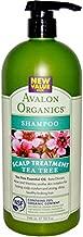 Avalon Organics, Shampoo Tea Tree Mint Treatment, 32 Fl Oz