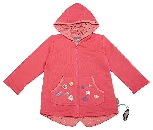 Sigikid Mädchen Sweat Jacke, Mini Sweatjacke, Rosa (Pink Lemonade 147), (Herstellergröße: 110)