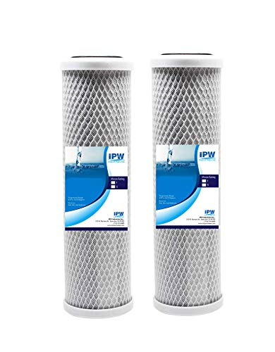 IPW Industries Inc RB-FXSVC Comparable Filter for The FXSVC, D-250A, Pentek P-250 and P-250A Dual Stage Filters, 2-Pack