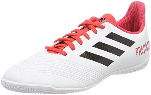 Adidas Predator Tango 18.4 In J, Zapatillas de fútbol Sala Niños Unisex niño, Blanco (Ftwbla/Negbas/Correa 000), 33.5 EU