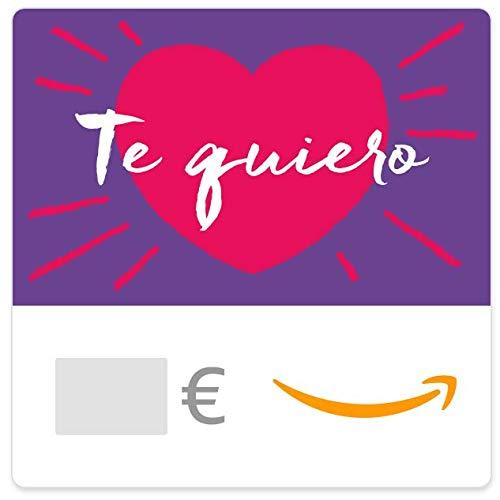 Cheques Regalo de Amazon.es - E-mail - Te Quiero (corazón rojo)
