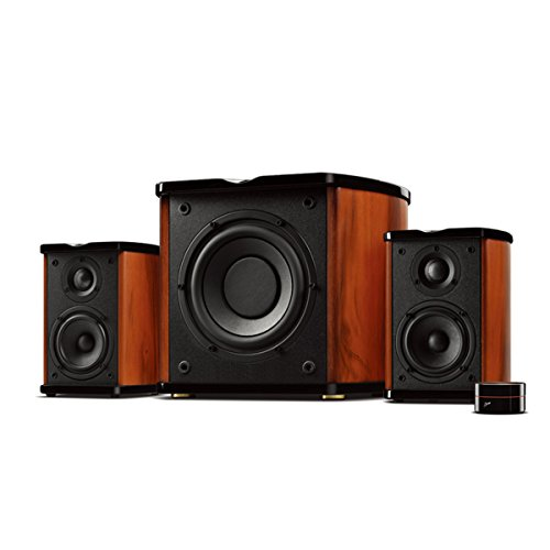 T200C-EU Wireless Bookshelf Speaker with 0.8 Inch Dome Tweeter CES Winner Hifi Speaker SWANS Bluetooth Monitor Speaker