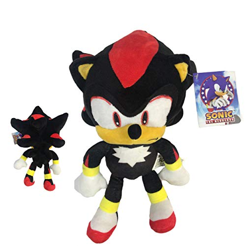 Sonic - Peluche Shadow The Hedgehog 11'80'/30cm Color Negro Calidad Super Soft