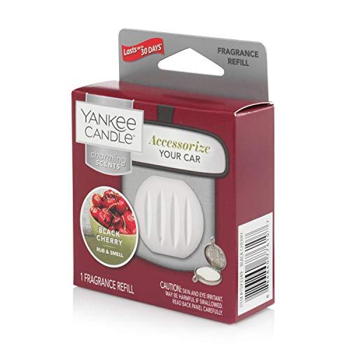 Yankee Candle Black Cherry Refill Charming profumatore per Auto, Multicolore, Unica