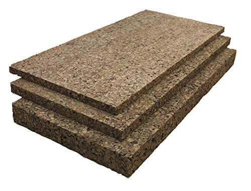 cork raw materials Cork Sheet, Insulation, 1 In Th, 12 x 36 In