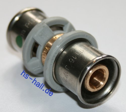 Viega Sanfix P Fosta Kupplung Muffe 16 mm Pressfitting