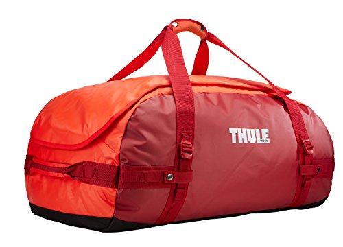 Thule Chasm Duffel Bag 90L (Rucksack und Reisetasche in einem) roarange