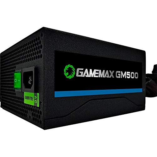 Fonte ATX - 500W - GAMEMAX GM500 - Preta
