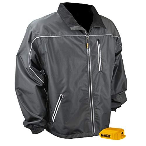 DEWALTDCHJ087BB-L DCHJ087 Lightweight Shell Heated Jacket, Black, L