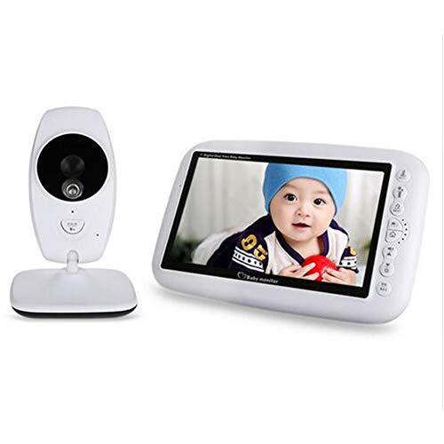 Baby Monitors 7 Pouces Digital Vidéo Babyfoon A Rencontré La Caméra 2.4Ghz Infrarouge De Vision Nocturne De Détection De Température Électronique Nanny