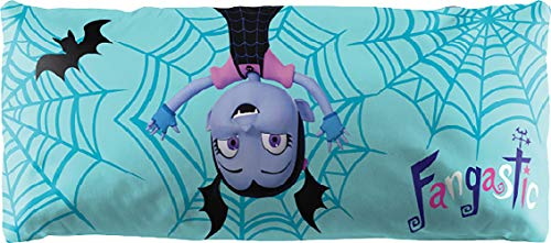 Jay Franco Disney Vampirina Fangtastic Body Pillow Cover - Kids Super Soft 1-Pack Bed Pillow Cover - Measures 20 Inches x 54 Inches (Official Disney Product)