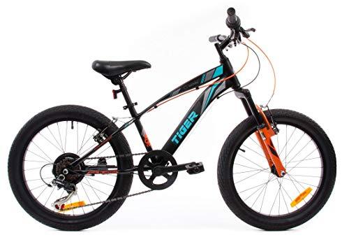 Bicicleta Infantil Niño Chico 20 Pulgadas Tiger Shimano Cambios de velocidades de...