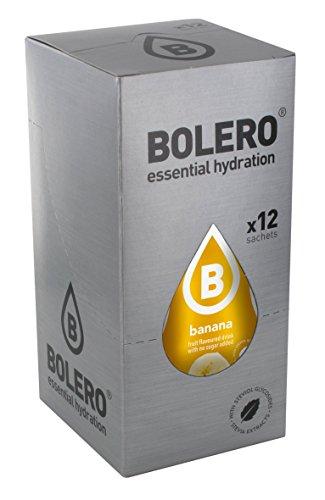 Bolero Bebida Instantánea Sabor Plátano - Paquete de 12 x 9 gram - Total: 108 gram