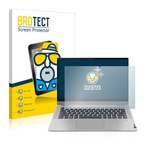 BROTECT Entspiegelungs-Schutzfolie kompatibel mit Lenovo IdeaPad Flex 5 14ARE05 Bildschirmschutz-Folie Matt, Anti-Reflex, Anti-Fingerprint