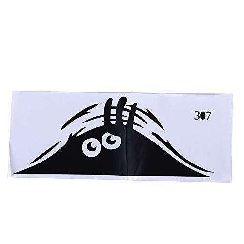 Generic Padokls Monster Toilette Wandaufkleber Hintergrund Vinyl Toilette Aufkleber