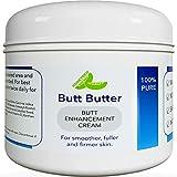 Premium Bigger Butt Enhancement Cream - Butt Cream for Bigger Butt Enhancer Skin Moisturizer and Natural Curves for Women with Hydrating Body Butters - Coconut Body Cream Butt Plumper Formula