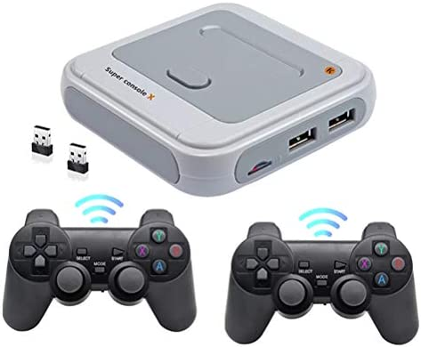 Wireless Retro Game Console Handheld Classic Game Consoles with Free 128G Card Built in 41000 product image