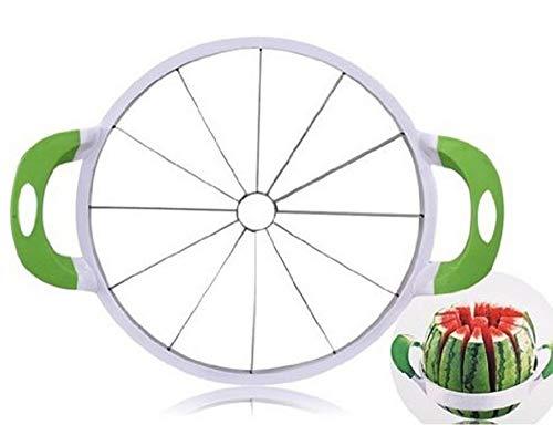 NEX Watermelon Slicer Corer Large Stainless Steel Blades Fruit Vegetable Apple Melon Cantaloupe Cutter Peeler Kitchen Gadgets Tools