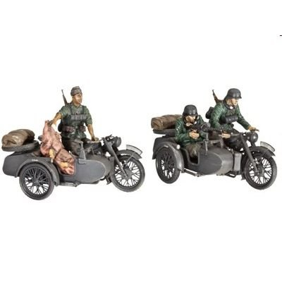 Revell 3090 - German Motorcycle R-12 with Sidecar + Crew