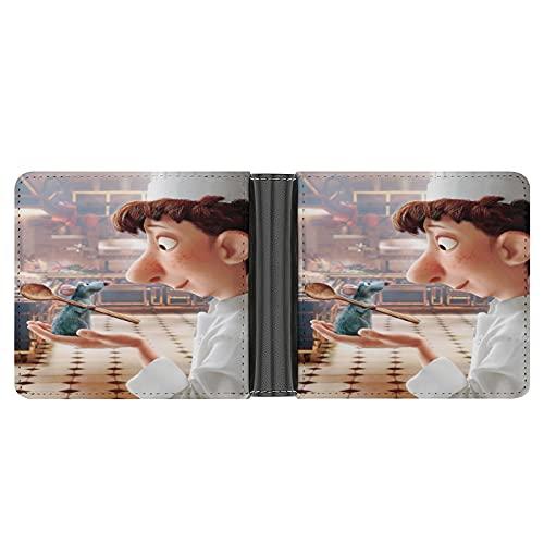 Ratatouille Geldbörse aus PU-Leder für Kreditkarten, Bargeld etc. DIY individuelle Geldbörse, modisches Kreditkartenetui