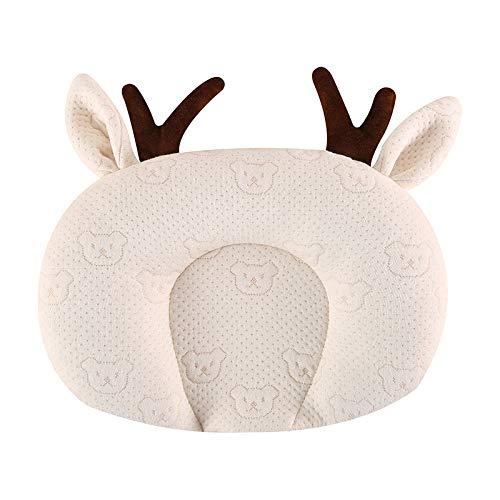 1 Uds, Cojín de protección para la cabeza de animales de dibujos animados bonitos para bebés, ropa de cama, posicionador para dormir para bebés y niños pequeños, almohada antivuelco