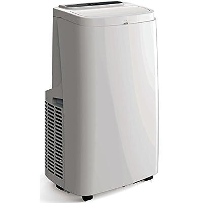 ElectrIQ SILENT12 12000 BTU Quiet Portable Air Conditioner-for Rooms up to 30sqm, Plastic
