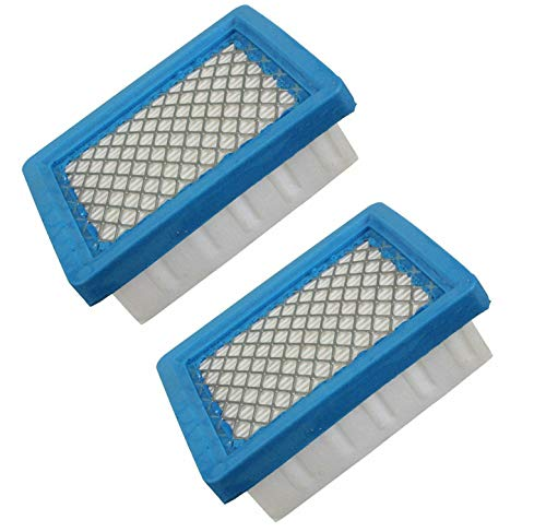Podoy 36046 Air Filter for Compatible with Tecumseh Ohh60 740061 4 5.5 Hp Engines Oh95 Oh195 Ohh50 Ohh55 Ohh65 Vlv50 Vlv55 Vlv60 Vlv66 Vlv126 Replace Stens 100-450(Pack of 2)
