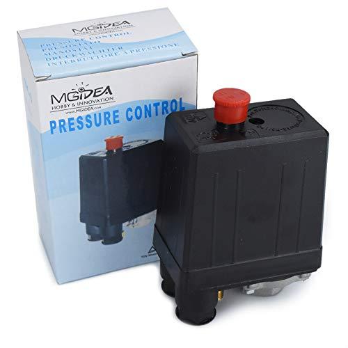 Presostato ajustable mecánico monofásico bomba compresor aire casa Mgidea SK-8 230 V 10 A 3/8 bar IP44