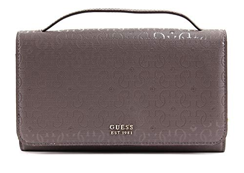 Guess Tamra Wallet On A String Taupe