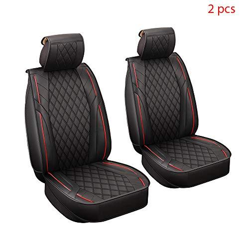 Walking Tiger Coprisedile per Auto 2PCS Accessori Auto Veicolo Protezione della Cassa per Auto A1 A3 8P 8V 8L A4 B6 B7 B8 A5 Sportback A6 A7 Q2 Q3 Q5 Q7 Sq5