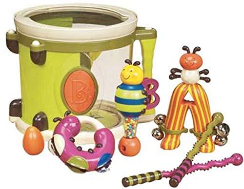 bx1007z trommel met muziekinstrumenten Arum Pum Pum