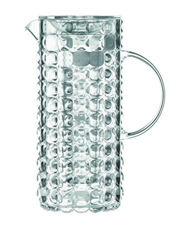 Guzzini Caraffa con Bulbo, Refrigerante Tiffany, Trasparente, 18.5 x 11.5 x h25.5 cm