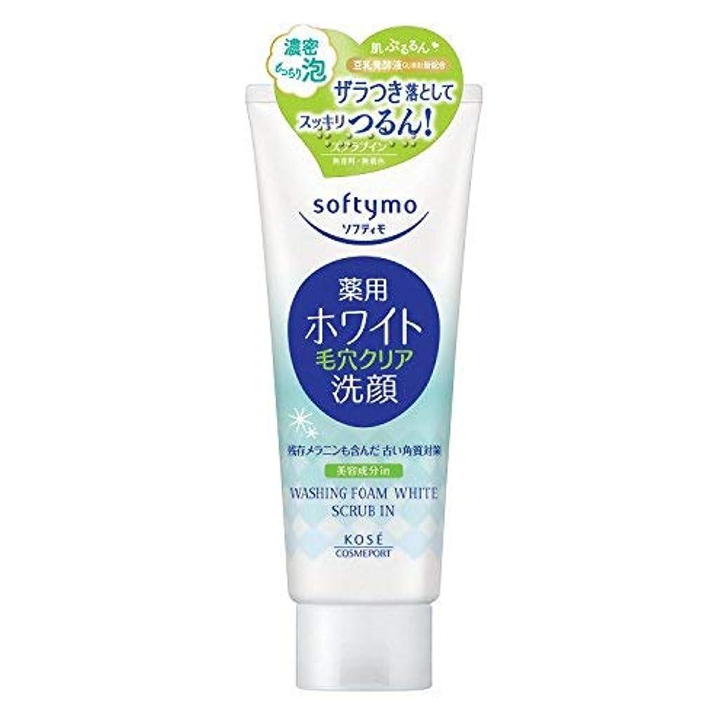 製造業予想外蒸留するソフティモ薬用洗顔フォーム(ホワイト)スクラブイン × 12個セット