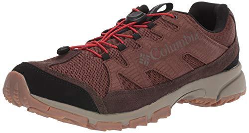 Columbia Five Forks WP, Chaussures de Randonnée Basses Homme, Marron (Tobacco, Flame 256), 41.5 EU