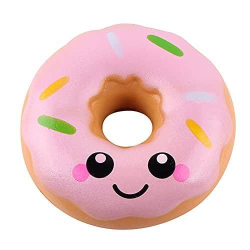 RYSF 11cm Lovely Donut Toy Toys Antiestrés Pop It Push Bubble Squeeze Juguetes (Color : B)