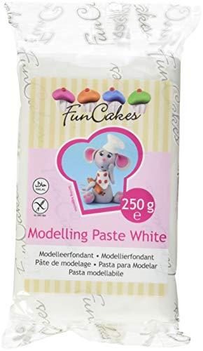 FunCakes Modelling Paste White, 3er Pack (3 x 250 g)