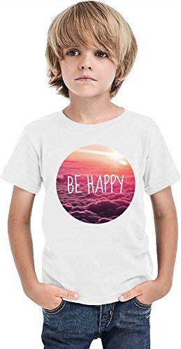 Be Happy Swag Hipsters Hype Relax Chill Tumblr Chillin Boys T-shirt 2/3 yrs