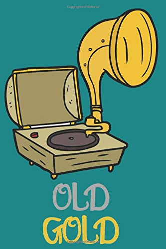 Old Record Player Vintage Vinyl Music Lover notebook:Old Record Player Vintage Vinyl Music Lover lined journal: best vintage gift 110 Pages ( 6 x 9 inches ) soft and matte cover
