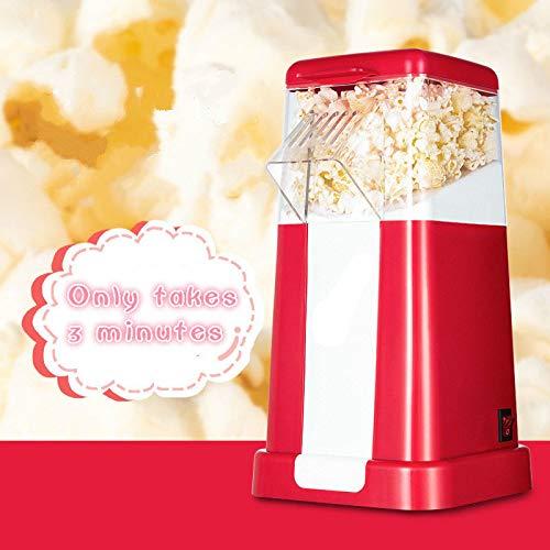 DJG 220V Haushalt Popcorn-Maschine, ölfrei und Low-Fat, abziehbar, leicht zu reinigen, geeignet zur Herstellung von Popcorn-Maschinen und kleine Popcorn-Maschinen