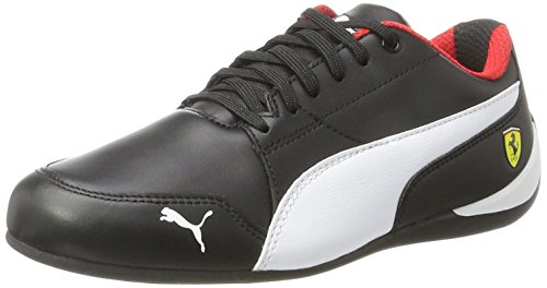 Puma SF Drift Cat 7, Zapatillas Unisex Adulto, Negro Black White Black, 41 EU